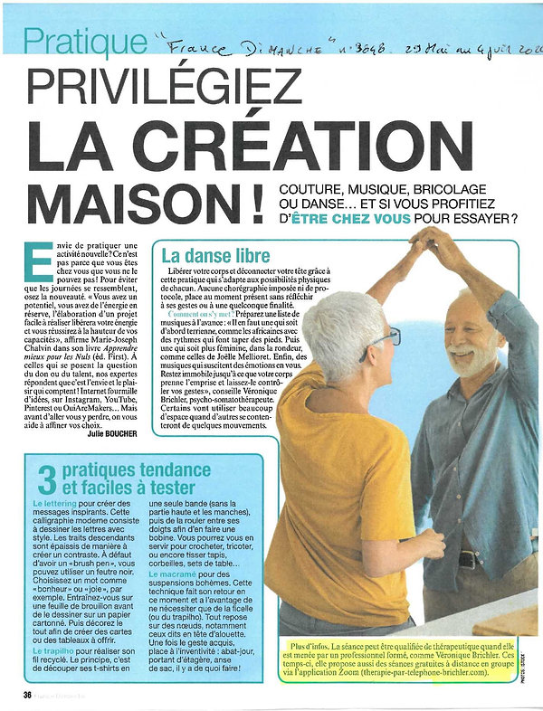 article Véronique France Dimanche 2.jpg