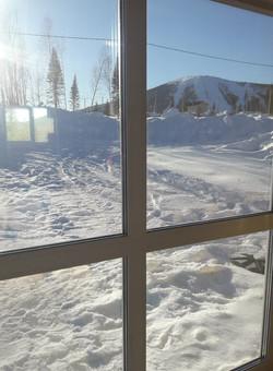 Вид из окна на г.Зеленая
