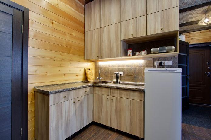 Кухонная зона (объединена с гостиной №1):