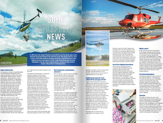 Eagle feature in Coffs Airport Magazine!