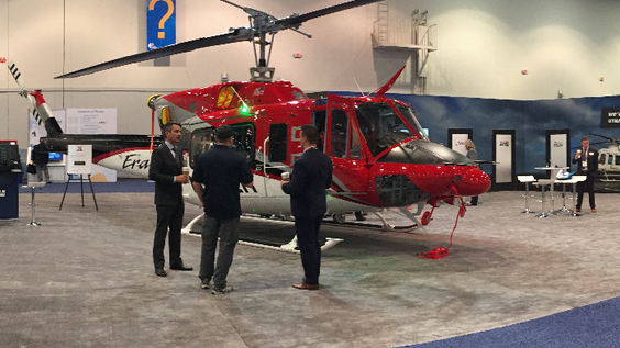 Eagle exhibiting NOW at HAI Heli-Expo, Las Vegas
