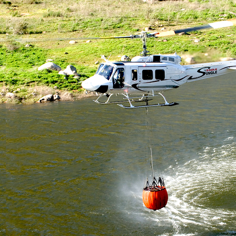 Eagle Single firefighting