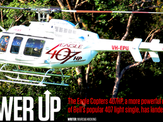 Eagle 407HP features in Australian Aviation Magazine