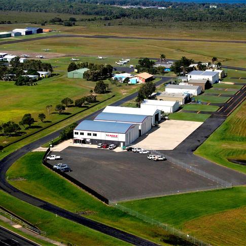 Eagle Australasia hangar Coffs Harbour Australia