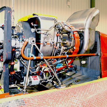 Eagle 407HP with Honeywell HTS900 engine