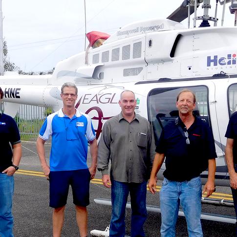 Eagle Australasia, Intermountain Turbine, Honeywell, Heli SGI