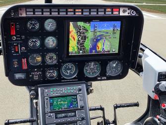 Eagle installs Australia's first Garmin G500H TXi for Helipower