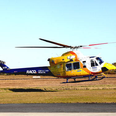 Emergency services helicopter with Eagle Customisation
