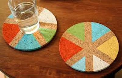 Bowties & Colorful Coasters