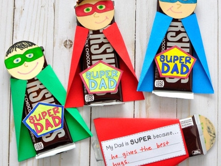 Take & Make Father's Day Superhero Art Kit