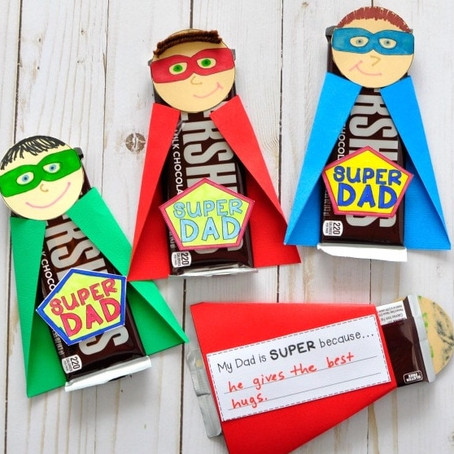 Take & Make Father's Day Superhero Art Kit