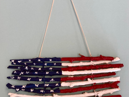 Take & Make Art Kit: Fantastic Flags