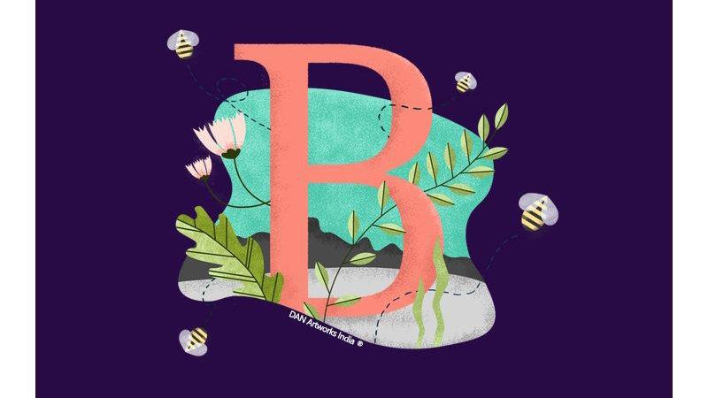 Alphabet- B