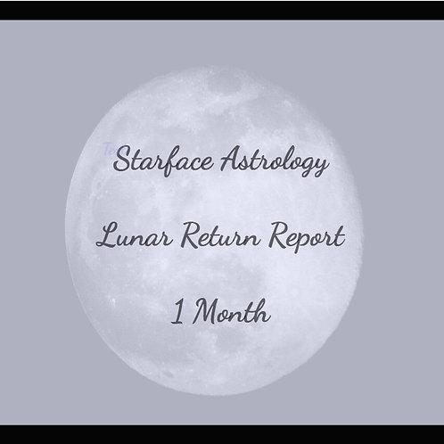 Lunar Return Report - 1 Month