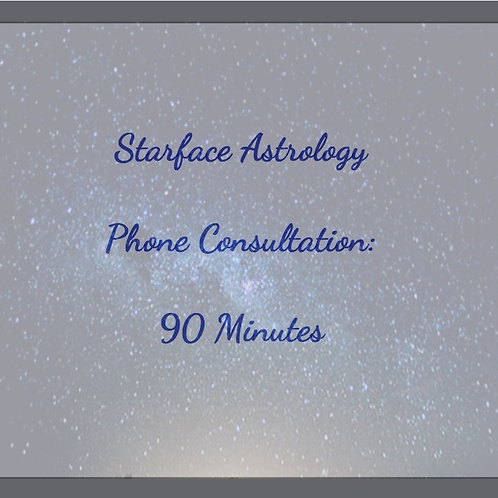 90 Minute Phone Consultation