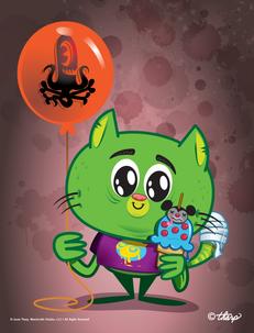 Kitty Balloon