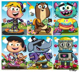 Fun Characters