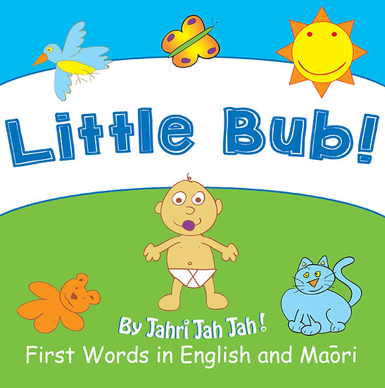 Little Bub - First Words in English and Maori