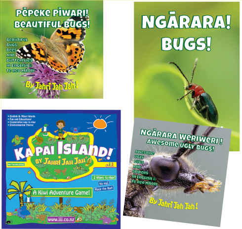 Ka Pai Island + Bug Set - 3 Books