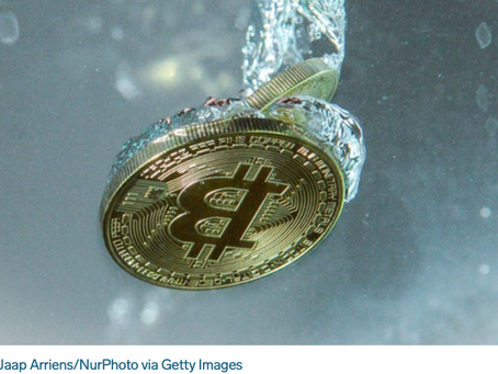 Morgan Stanley's investment arm is reportedly considering a stake in bitcoin