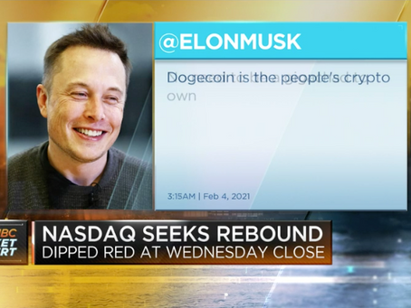 Tweets from Elon Musk and other celebrities send dogecoin to a record high by Ryan Browne