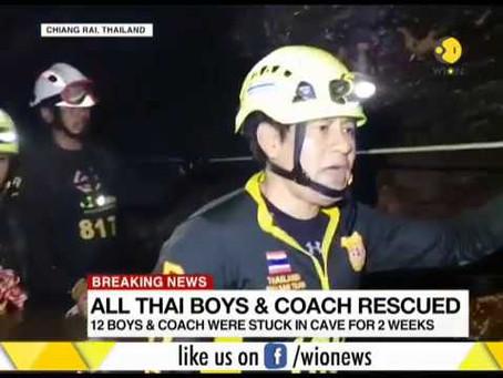 A Cave Rescue