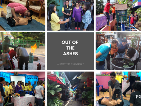 OUT OF THE ASHES: A Story of Resiliency