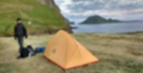 Gásadalur Tindhólmur Reika Adventures Faroe Islands