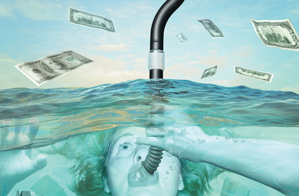 Drowning in student debts