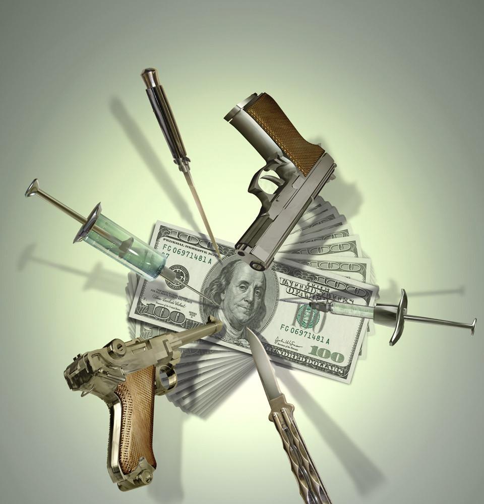 Guns Drugs & Money