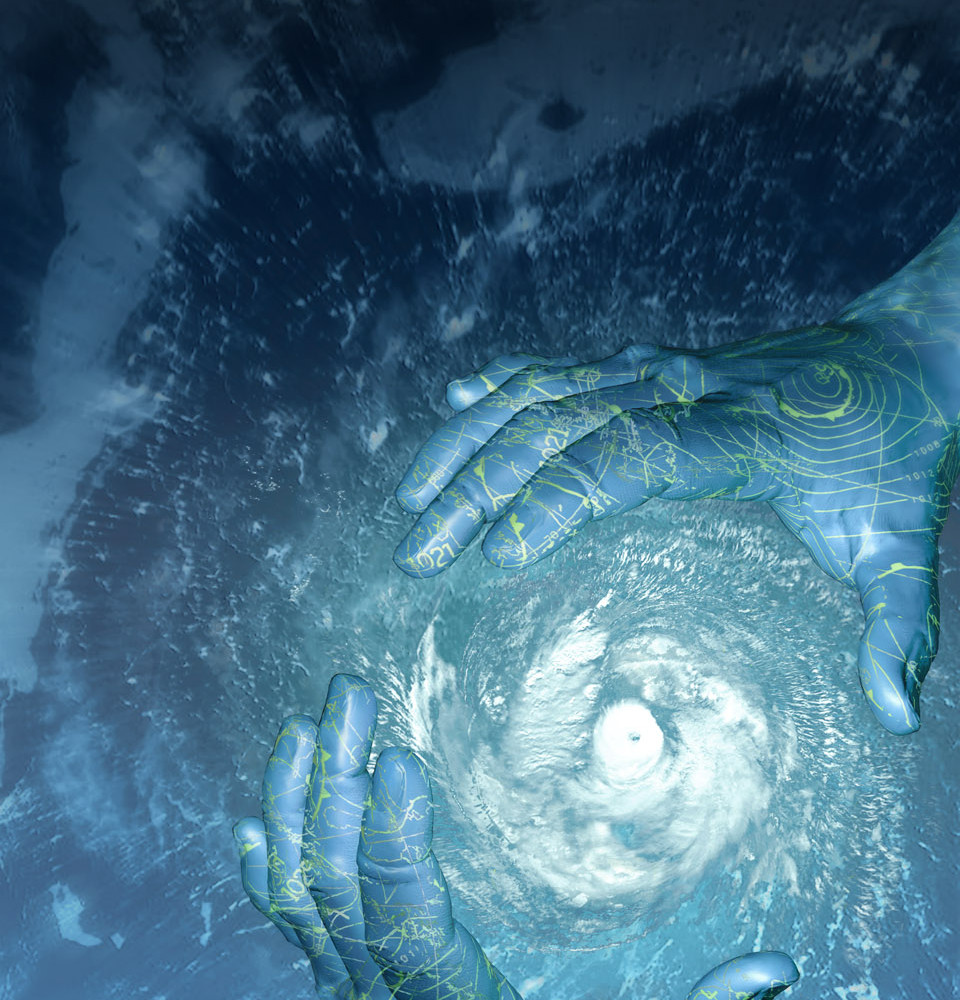 Sci-Am-cover image: Controlling Hurricanes