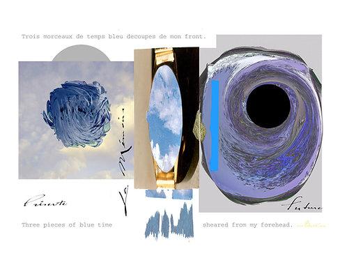 Trois morceaux de temps bleus