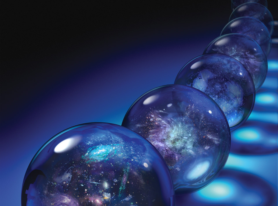 Sci-Am: Multiverses (cover image)