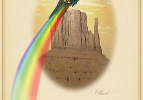Rare Birds of North America:                  The Cibola Rain Bird