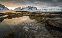 Arctic Sunset Beach