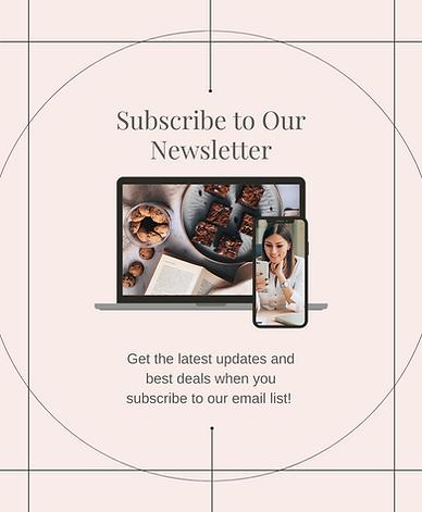Minimalist Green Join Newsletter Subscri