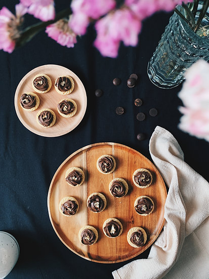 24k Nutella Rosettes
