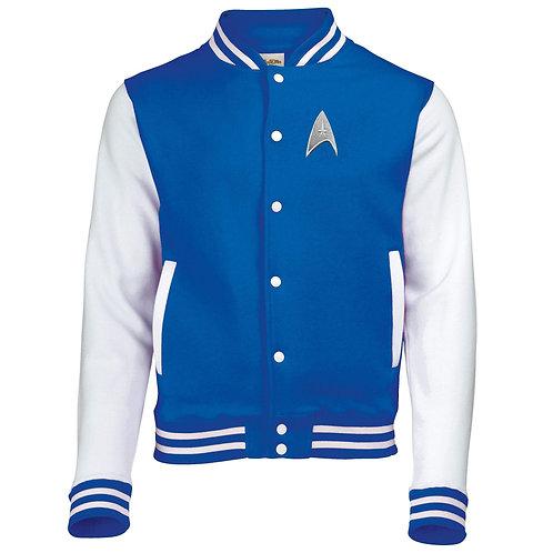 Star Trek Varsity Jacket - Blue with two options