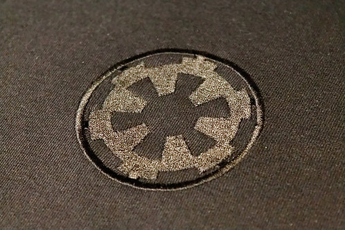 Star Wars T-Shirt - Imperial logo - Embroidered
