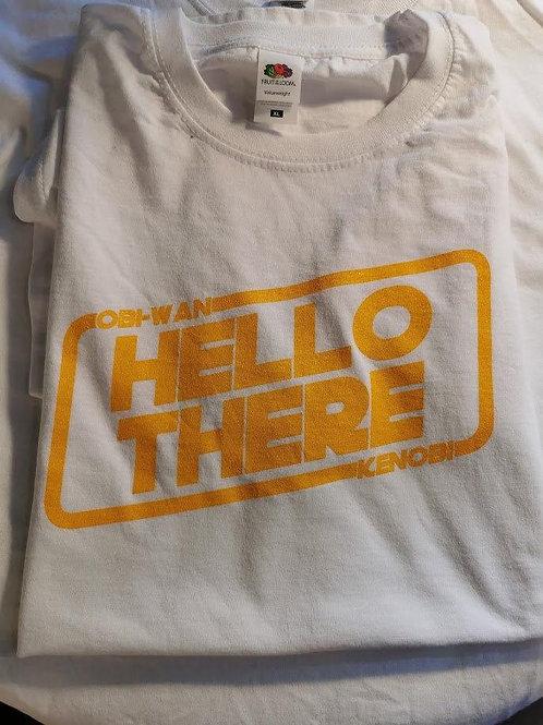 Star Wars - Obi-Wan Kenobi - Hello There T-Shirt | White