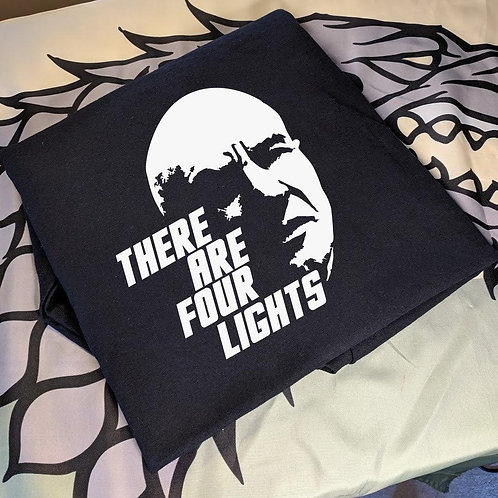 Star Trek the Next Generation - There are four lights T-shirt