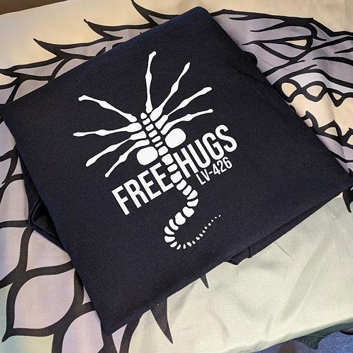 Alien - Free Hugs T Shirt