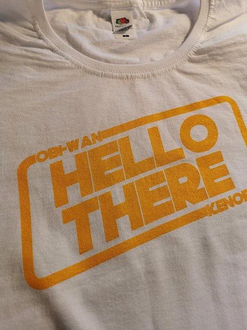 Star Wars - Obi-Wan Kenobi - Hello There Lady Fit T-Shirt   White