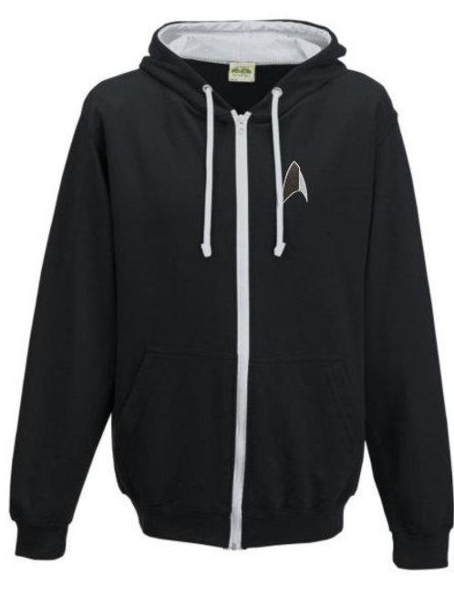 Star Trek Discovery - Section 31 Style Zipped Hoodie