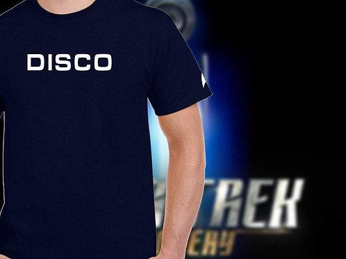 Star Trek Discovery: DISCO Tee shirt.  Star Trek Clothing