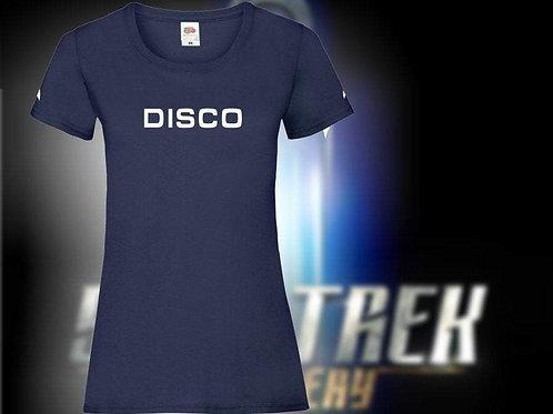Lady Fit Star Trek Discovery: DISCO Tee shirt.