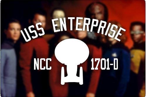 Star Trek the Next Generation USS Enterprise Next Generation Tee Shirt