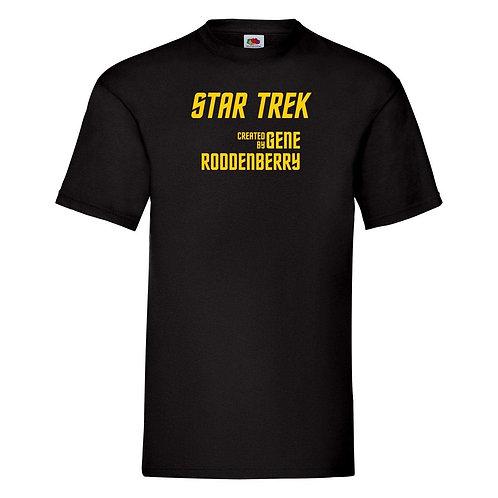 Star Trek T-shirt - Created by Gene Roddenberry