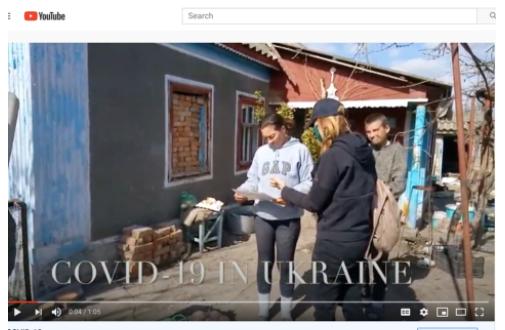COVID IN UKRAINE
