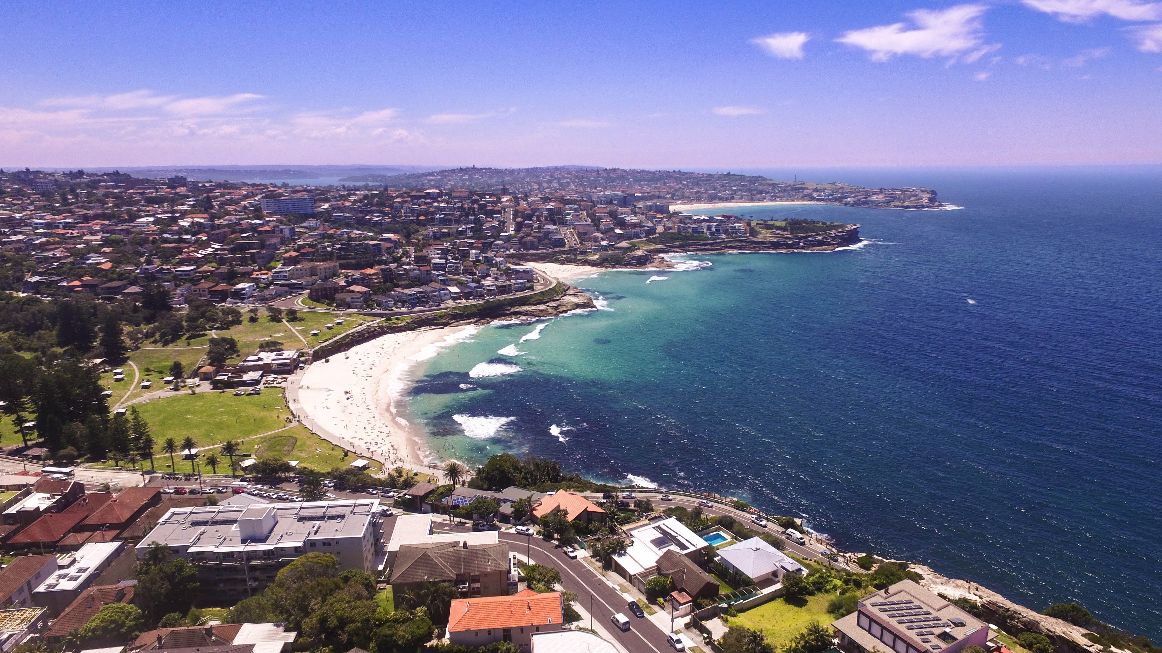 Sydney am Strand